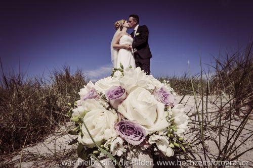 Brautsrauß in den Dünen